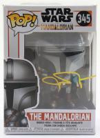 """John Rosengrant Signed """"Star Wars: The Mandalorian"""" #345 The Mandalorian Funko Pop! Vinyl Figure (JSA COA) at PristineAuction.com"""