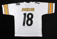 Diontae Johnson Signed Jersey (JSA COA) (See Description) at PristineAuction.com