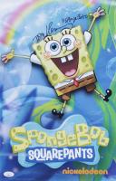 "Tom Kenny Signed ""SpongeBob SquarePants"" 11x17 Print Inscribed ""SpongeBob"" (JSA COA) (See Description) at PristineAuction.com"