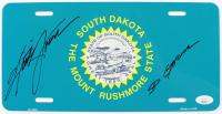 "Kristi Noem Signed License Plate Inscribed ""SD Governor"" (JSA COA) at PristineAuction.com"