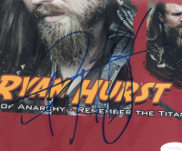 """Ryan Hurst Signed """"Sons of Anarchy"""" & """"Remember the Titans"""" 13.5x16.5 Custom Framed Photo (JSA COA) at PristineAuction.com"""