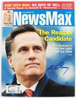 Mitt Romney Signed 2007 NewsMax Magazine (PSA COA) (See Description) at PristineAuction.com