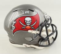 Lavonte David Signed Buccaneers Super Bowl LV Champions Speed Mini Helmet (JSA COA) at PristineAuction.com