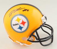 Diontae Johnson Signed Steelers Mini Helmet (Beckett COA) at PristineAuction.com