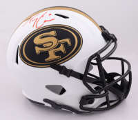Trey Lance Signed 49ers Full-Size Lunar Eclipse Alternate Speed Helmet (Beckett Hologram) (See Description) at PristineAuction.com