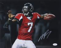 Michael Vick Signed Falcons 11x14 Photo (JSA COA) at PristineAuction.com