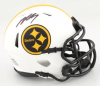 Michael Vick Signed Steelers Lunar Eclipse Alternate Speed Mini Helmet (JSA COA) at PristineAuction.com