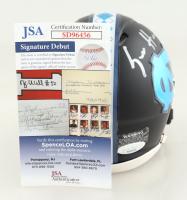 Sam Howell Signed North Carolina Tar Heels Matte Black Alternate Speed Mini Helmet (JSA COA) at PristineAuction.com