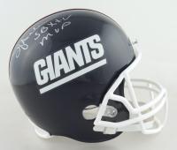 "Ottis Anderson Signed Giants Throwback Full-Size Helmet Inscribed ""SB XXV MVP"" (Schwartz Sports COA) at PristineAuction.com"