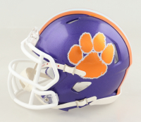 """Justyn Ross Signed Clemson Tigers Speed Mini Helmet Inscribed """"All In"""" (JSA COA) at PristineAuction.com"""