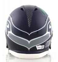 Marshawn Lynch Signed Seahawks Speed Mini Helmet (Fanatics Hologram) at PristineAuction.com