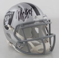Marshawn Lynch Signed Raiders Speed Mini Helmet (Fanatics Hologram) at PristineAuction.com