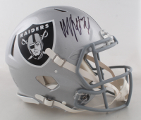 Marshawn Lynch Signed Raiders Full-Size Authentic On-Field Speed Helmet (Fanatics Hologram) at PristineAuction.com