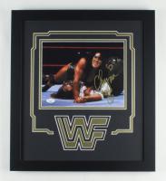 "Chyna Signed WWE 17x20 Custom Framed Photo Display Inscribed ""Xoxo"" (JSA COA) at PristineAuction.com"