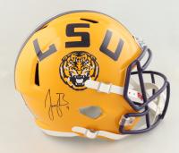 Joe Burrow Signed LSU Tigers Full-Size Speed Helmet (Fanatics Hologram) (See Description) at PristineAuction.com