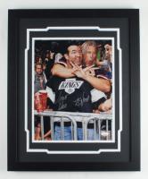 Scott Hall & Kevin Nash Signed WWE 18x22 Custom Framed Photo Display (JSA COA) at PristineAuction.com