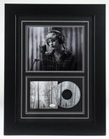"Taylor Swift Signed 17x22 Custom Framed ""Folklore"" Album Photo Display (JSA COA) (See Description) at PristineAuction.com"