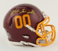 Jamin Davis Signed Washington Football Team Speed Mini Helmet (Beckett Hologram) at PristineAuction.com