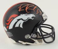 Bill Romanowski Signed Broncos Mini Helmet (Beckett COA) at PristineAuction.com