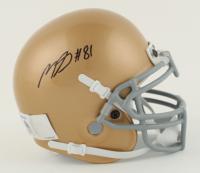 Miles Boykin Signed Notre Dame Fighting Irish Mini Helmet (Beckett COA) at PristineAuction.com