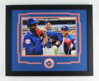 Mike Tyson, Doc Gooden & Darryl Strawberry Signed 18x22 Custom Framed Photo Display (JSA Hologram) at PristineAuction.com