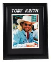 Toby Keith Signed 13x16 Custom Framed Photo Display (JSA Hologram) (See Description) at PristineAuction.com
