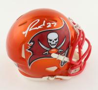 Ronald Jones II Signed Buccaneers Flash Alternate Speed Mini Helmet (Beckett Hologram) (See Description) at PristineAuction.com