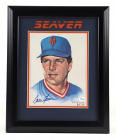 Tom Seaver Signed Mets 13x16 Custom Framed Print Display (JSA COA) (See Description) at PristineAuction.com