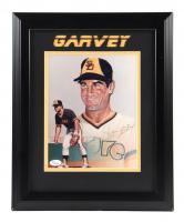 Steve Garvey Signed Padres 13x16 Custom Framed Print Display (JSA COA) (See Description) at PristineAuction.com