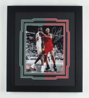 Dennis Rodman & Shawn Kemp Signed 15x17 Custom Framed Photo Display (TriStar Hologram & Rodman Hologram) at PristineAuction.com
