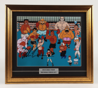 """Mike Tyson Signed """"Punch-Out"""" 17x19 Custom Framed Photo Display (PSA COA & Tyson Hologram) at PristineAuction.com"""