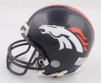 Shannon Sharpe Signed Broncos Mini Helmet (Beckett COA) (See Description) at PristineAuction.com