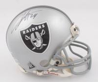 Charles Woodson Signed Raiders Mini Helmet (Beckett COA) (See Description) at PristineAuction.com