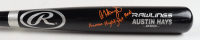"Austin Hays Signed Rawlings Pro Player Model Baseball Bat Inscribed ""Human Highlight Reel"" (JSA Hologram) at PristineAuction.com"