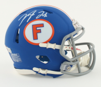 Kyle Trask Signed Florida Gators Speed Mini Helmet (Fanatics Hologram) at PristineAuction.com