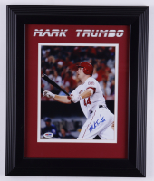 Mark Trumbo Signed Angels 14.5x17.5 Framed Photo (PSA COA) (See Description) at PristineAuction.com