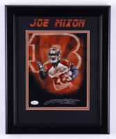 Joe Mixon Signed Bengals 13.5x16.5 Framed Photo (JSA COA) (See Description) at PristineAuction.com