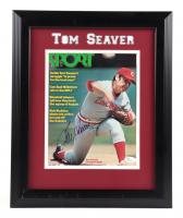 Tom Seaver Signed Reds 14x17 Custom Framed Photo Display (JSA COA) (See Description) at PristineAuction.com