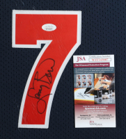 Larry Bird Signed 35.5x43.5 Custom Framed Jersey Display (JSA COA) (See Description) at PristineAuction.com