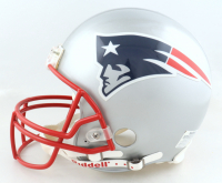 """Tom Brady Signed Patriots Full-Size Authentic On-Field Helmet Inscribed """"SB 36 MVP"""" (TriStar Hologram) (See Description) at PristineAuction.com"""
