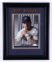 Jeff Bagwell Signed 13.5x16.5 Framed Photo Inscribed (JSA COA) (See Description) at PristineAuction.com