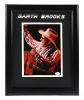 Garth Brooks Signed 13x16 Custom Framed Photo Display (JSA COA) (See Description) at PristineAuction.com