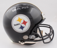"""Hines Ward Signed Steelers Full-Size Authentic On-Field Helmet Inscribed """"SB XL MVP"""" (Beckett COA) (See Description) at PristineAuction.com"""