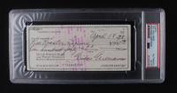 Ted Williams Signed Bank Check (PSA Encapsulated) at PristineAuction.com