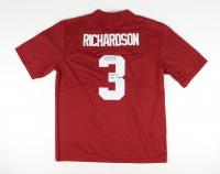 """Trent Richardson Signed Alabama Crimson Tide Jersey Inscribed """"2009 & 11 NAT Champs"""" (JSA COA) at PristineAuction.com"""