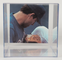 """Nolan Ryan Signed Rawlings Baseball Glove Inscribed """"The Ryan Express"""" with Photo Display Case (PSA COA) at PristineAuction.com"""