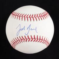 Josh Breaux Signed OML Baseball (Beckett Hologram) at PristineAuction.com