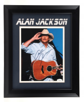 Alan Jackson Signed 14x16 Custom Framed Photo Display (JSA COA) at PristineAuction.com