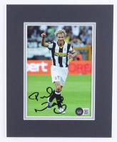 Pavel Nedved Signed Juventus F.C. 8x10 Custom Matte Photo Display (Beckett COA) at PristineAuction.com