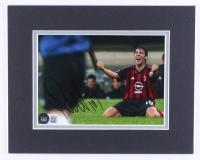 Rui Costa Signed A.C. Milan 8x10 Custom Matte Photo Display (Beckett COA) at PristineAuction.com